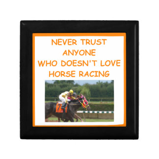 thoroughbred horse racing gift box