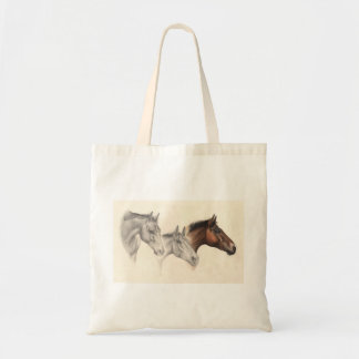 Thoroughbred Horses Drawn and Painted