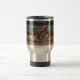 Thoroughbred Race Travel Mug