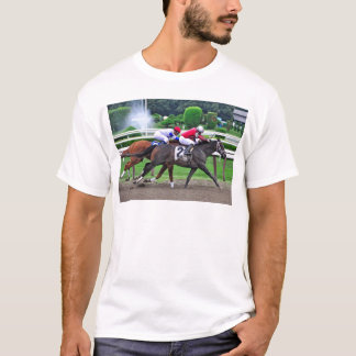 Thoroughbred Racing at Historic Saratoga Racetrack T-Shirt