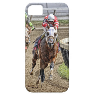 Thoroughbred Rounding Last Turn Barely There iPhone 5 Case