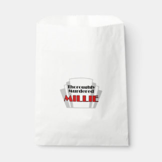 Thoroughly Murdered Millie Favour Bags