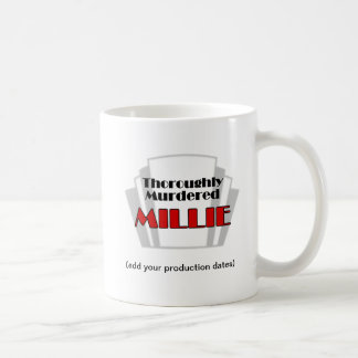 Thoroughly Murdered Millie photo memento mug