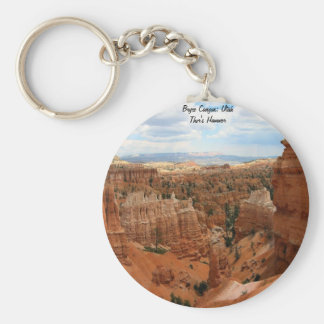 Thor's Hammer Bryce Canyon Utah Key Ring