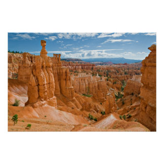 Thor's Hammer Formation Bryce Canyon National Park Poster