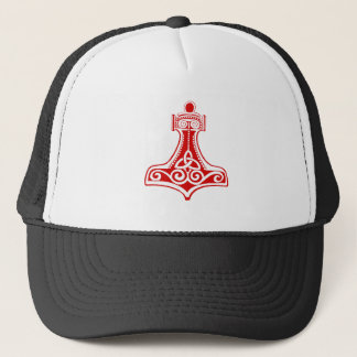 thors hammer trucker hat