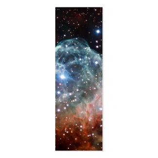 Thor's Helmet Nebula Space Business Card Template