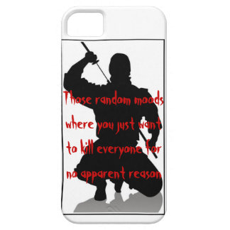 Those random moods where you just want to... iPhone 5 cover