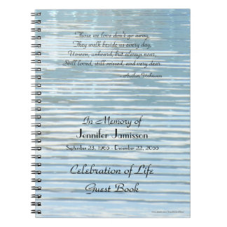 Those We Love Celebration of Life Guest Book