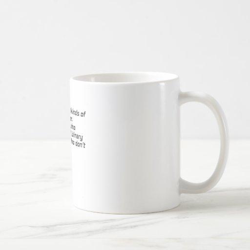 Those who understand binary and those who dont coffee mug