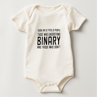 Those who understand binary baby bodysuits