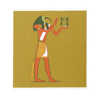 Thoth, Ancient Egyptian God Memo Note Pads