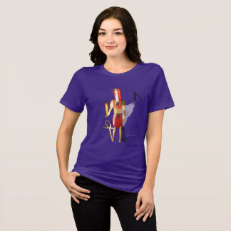 Thoth Ghostly Shadows Ladies Relaxed Fit T-Shirt