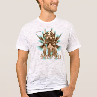 Thoth Sepia Men's Burnout Shirt
