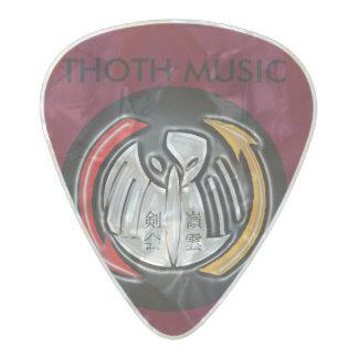 THOTH studios publishing guitar pick