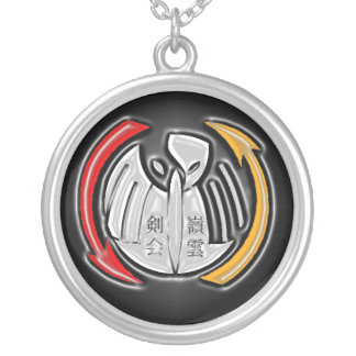 THOTH Symbol Silver Plated Necklace