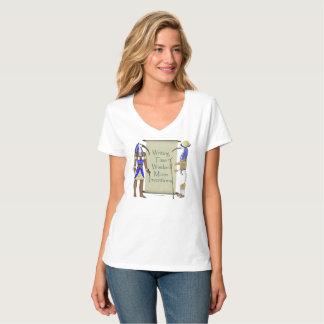 Thoth's List Ladies V-Neck Nano T-shirt