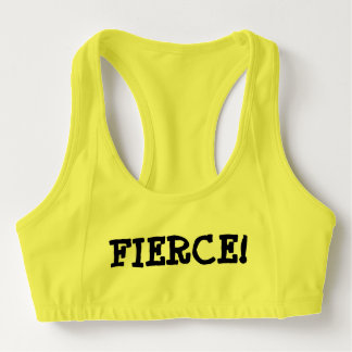 Though she be but little... Sports Bra