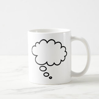 Thought Bubble - add your own text! Coffee Mug