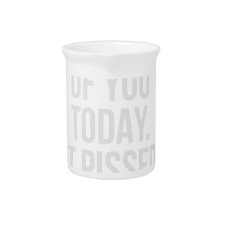 Thought of you Today Pitcher