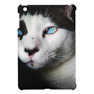 Thoughtful cat against moody backdrop iPad mini covers