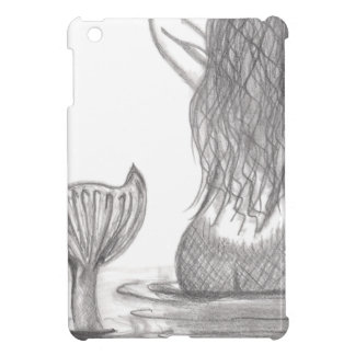Thoughtful Mermaid iPad Mini Cover