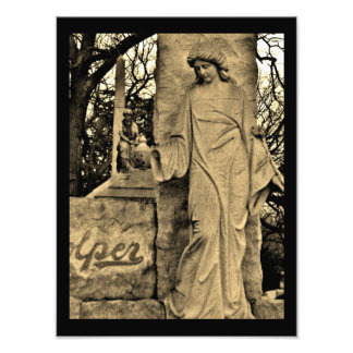 Thoughtful Sculpture Photographic Print