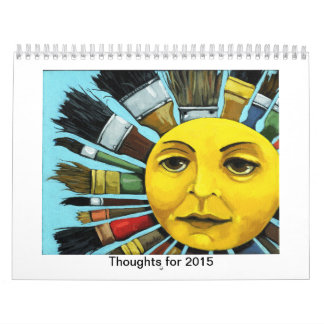 Thoughts for 2015 wall calendars