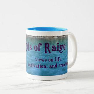 Thoughts of Raige Two Tone Mug