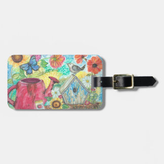 Thoughts Of Spring Luggage Tag