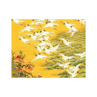 Thousand Birds Japanese Art Canvas Prints