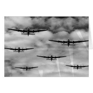 Thousand Bomber Raid Card