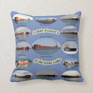 Thousand Footers of the Great Lakes pillow