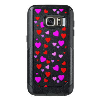 thousand hearts for you with black background OtterBox samsung galaxy s7 case
