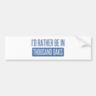 Thousand Oaks Bumper Sticker