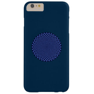 Thousand Petal Lotus, Blue Barely There iPhone 6 Plus Case