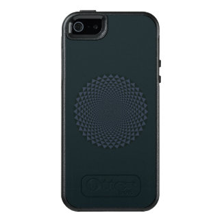 Thousand Petal Lotus, Dark OtterBox iPhone 5/5s/SE Case