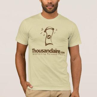 Thousandaire Dollar Bill - Brown T-Shirt