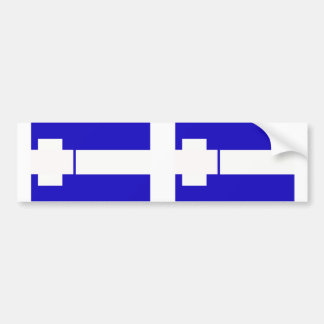 Thrace Greece flag Bumper Stickers