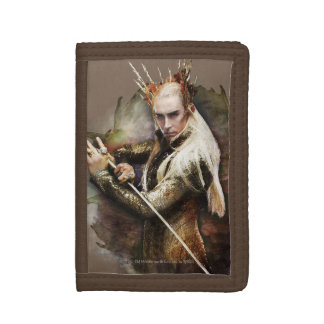 Thranduil With Sword Trifold Wallet