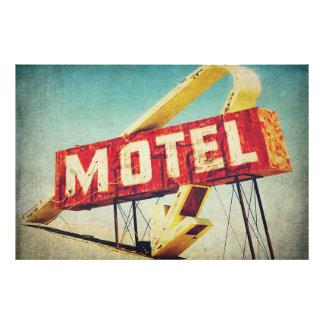Thrashed Motel Photo Print