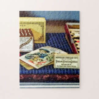 Thread And Pins In General Store Jigsaw Puzzle