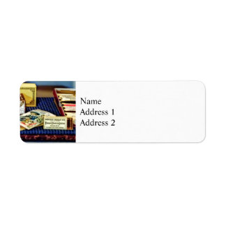Thread And Pins In General Store Return Address Label