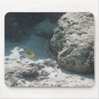 Thread Fin Butterfly Fish Mouse Pad