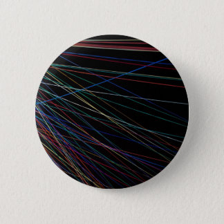 Thread lines from a summer festival 6 cm round badge