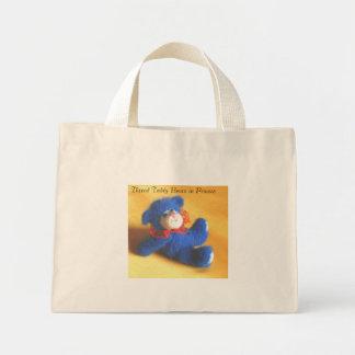 Thread Teddy Bears in Process Mini Tote Bag
