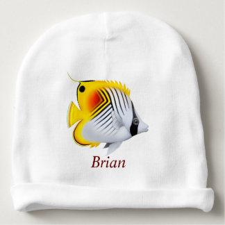 Threadfin Auriga Butterfly Fish Baby Hat Baby Beanie