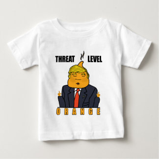 Threat Level Orange Baby T-Shirt