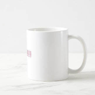 THREATS!!!! BASIC WHITE MUG