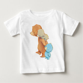 Three Adorable Bear Friends Baby T-Shirt